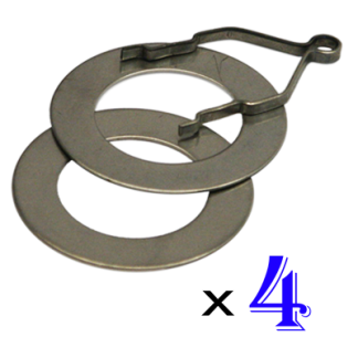 Ring and Track Set of 4