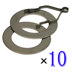 Ring and Track Set of 10