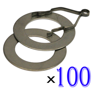 Ring and Track Set of 100