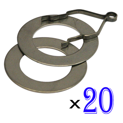 Ring and Track Set of 20