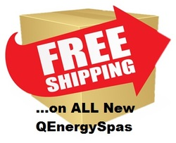 Free Shipping for all New QEnergySpas