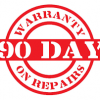 90 day repair warranty