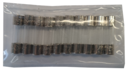 Accessory Pack for Used Machines includes 20 fuses