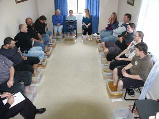 Group Footbath Session