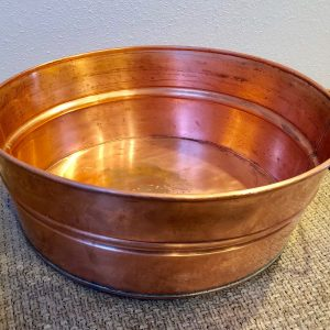 Copper Foot Tub