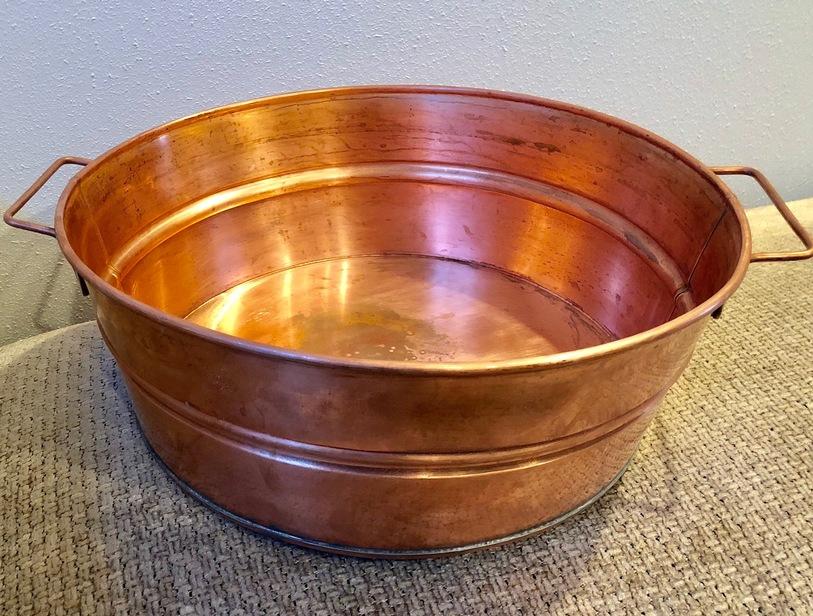 Copper Foot Tub