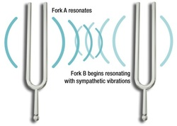 Tuning Forks resonating
